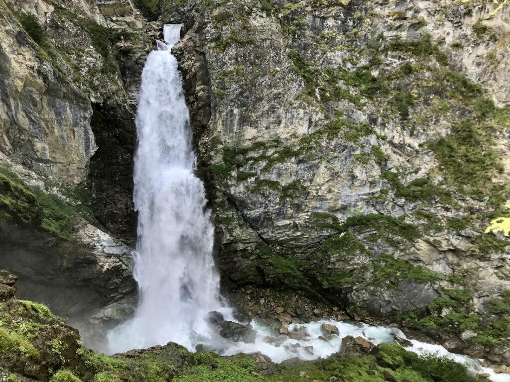Unbekannte Wasserfälle Österreich: Der Gössnitzfall im Nationalpark Hohe Tauern