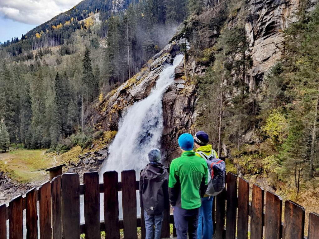 Die meistbesuchten Wasserfälle in Österreich - Krimmler Wasserfälle