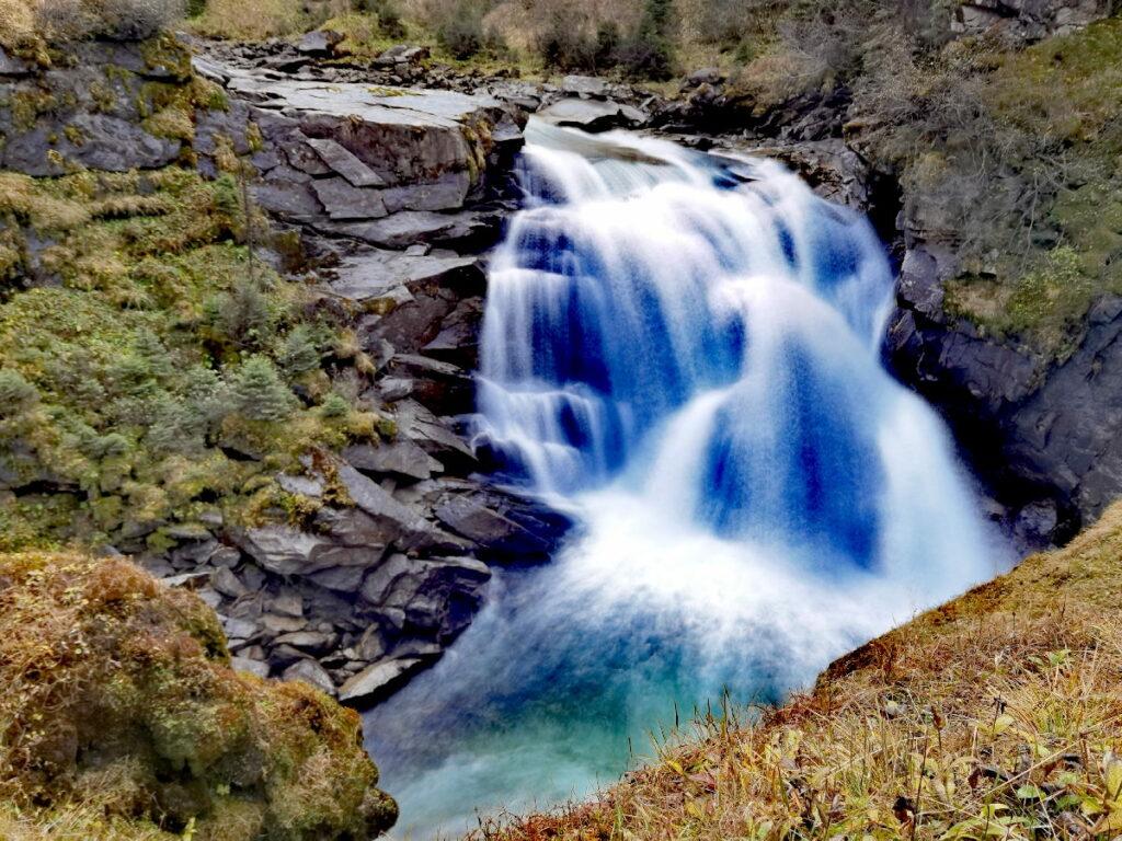 Ausflugsziel im Tirol Urlaub - die Krimmler Wasserfälle