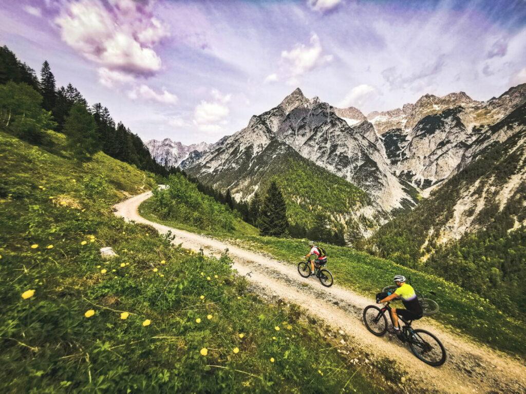 Mountainbikeurlaub Österreich - hier im Karwendel in Tirol