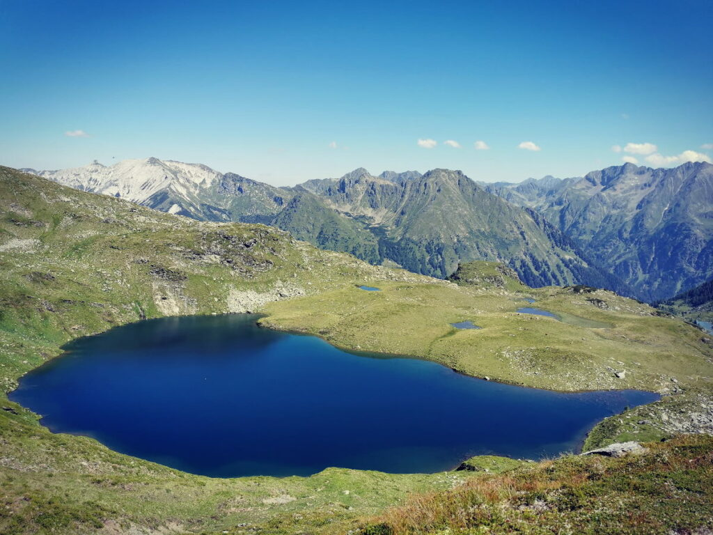 Mountainbikeurlaub Österreich - fern der Lifte am Bergsee