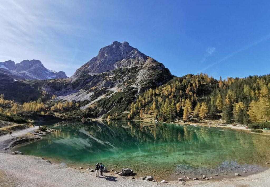 Die schönsten Österreich Seen: Der Seebsensee oberhalb der Leutasch, Tirol