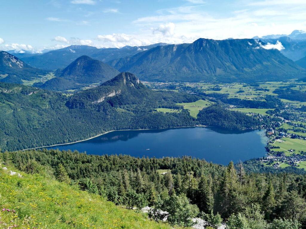 Österreich Seen - Land: Das Salzkammergut hat viele Seen! Das ist der Altausseer See vom Loser gesehen