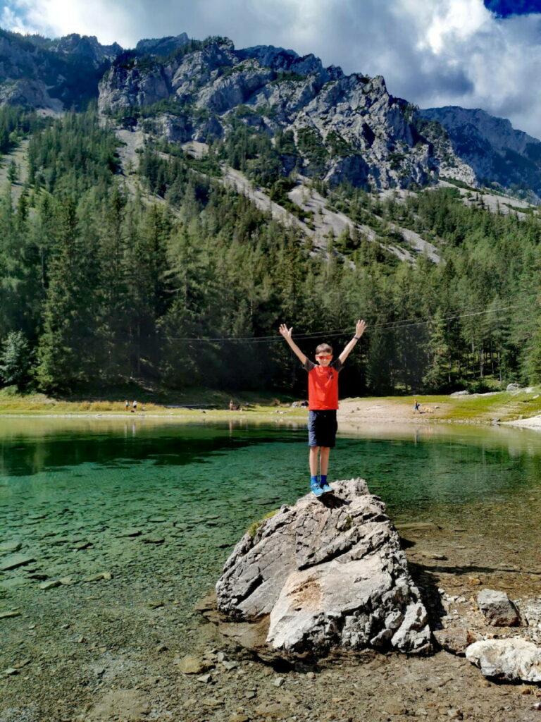 Zum schönsten Platz in Österreich gewählt: Grüner See, Tragöss