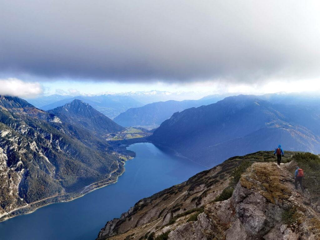 Einer der größten Österreich Seen - und der größte See in Tirol: Der Achensee