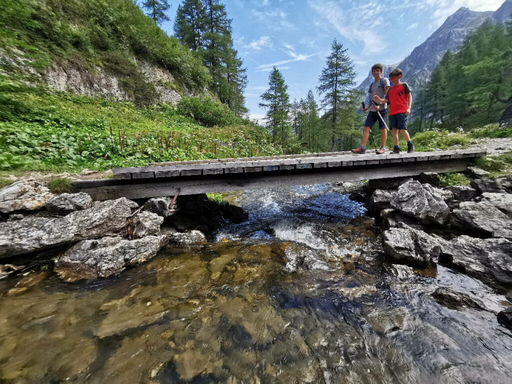 Unsere Wanderung zum Tappenkarsee im Salzburger Land