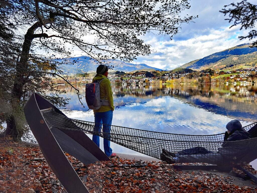 An den Österreich Seen wandern - mit Ausblick und Hängematte