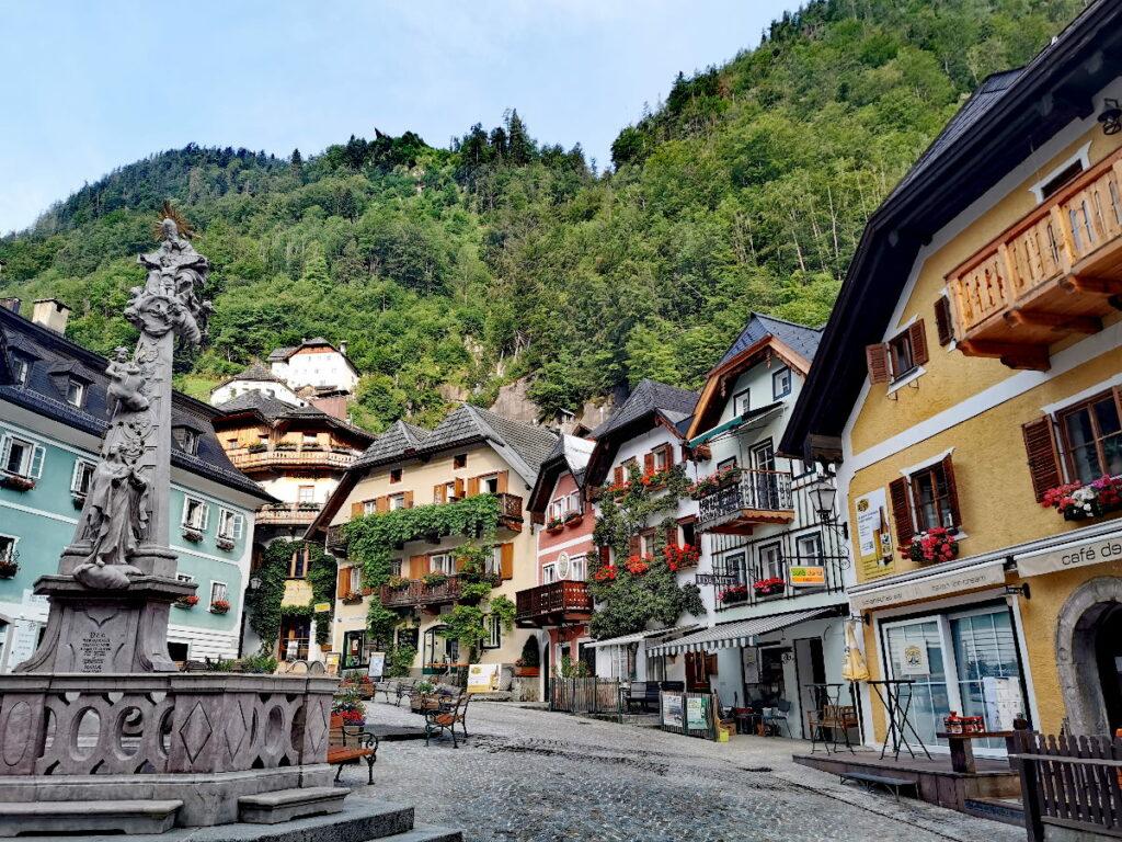 Ohne Salzbergwerk könntest du heute keinen Österreich Urlaub in Hallstatt verbringen