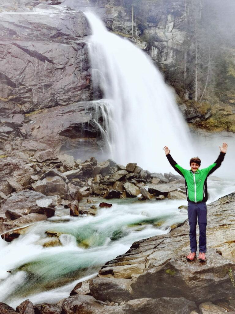Österreich Urlaub - wir haben die schönsten und größten Wasserfälle in Österreich besucht