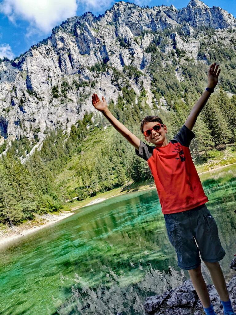 Grüner See - einer der meistbesuchten Seen im Österreich Urlaub