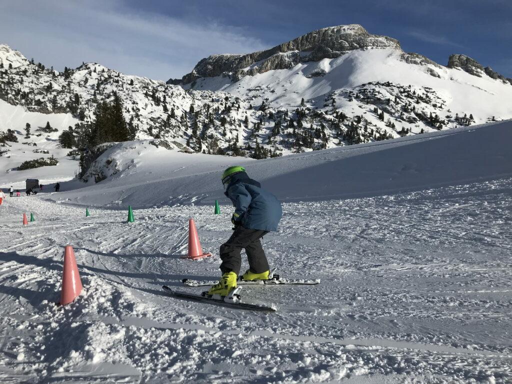 Skiurlaub Österreich mit Kindern - unserem Kleinen hat es im Rofan sehr viel Spaß gemacht