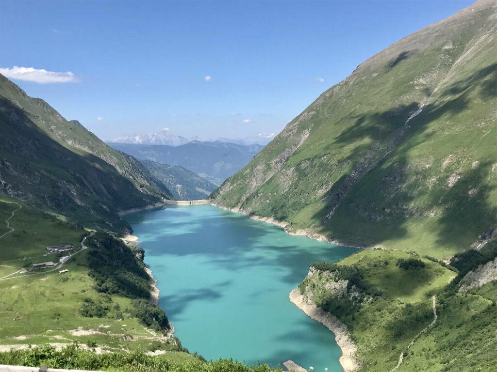Stauseen Österreich im Salzburger Land: Die Kaprun Hochgebirgsstauseen