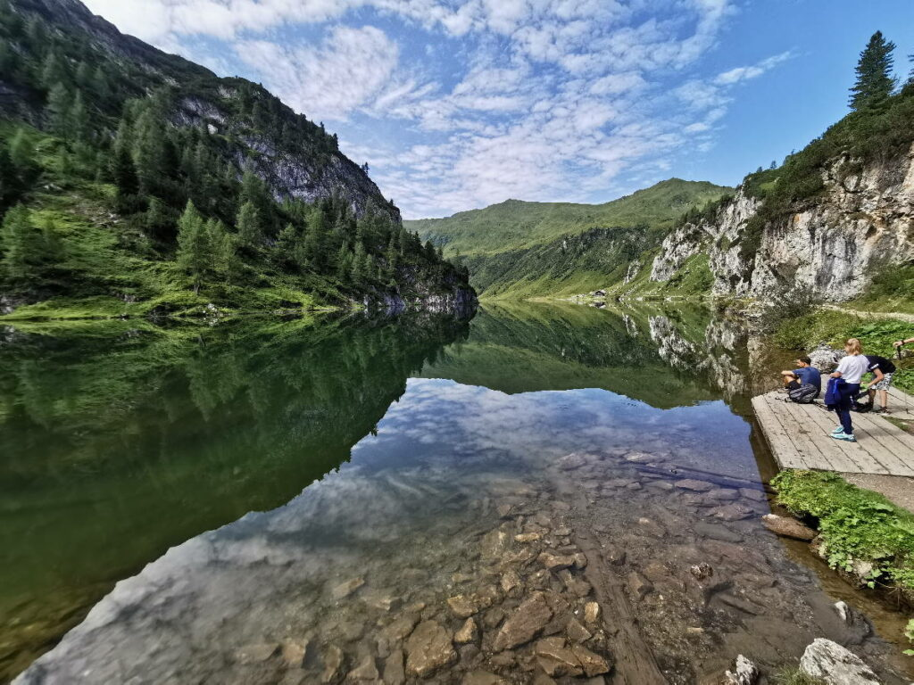 Fantastische Österreich Seen - der Tappenkarsee gehört zweifelsohne dazu!