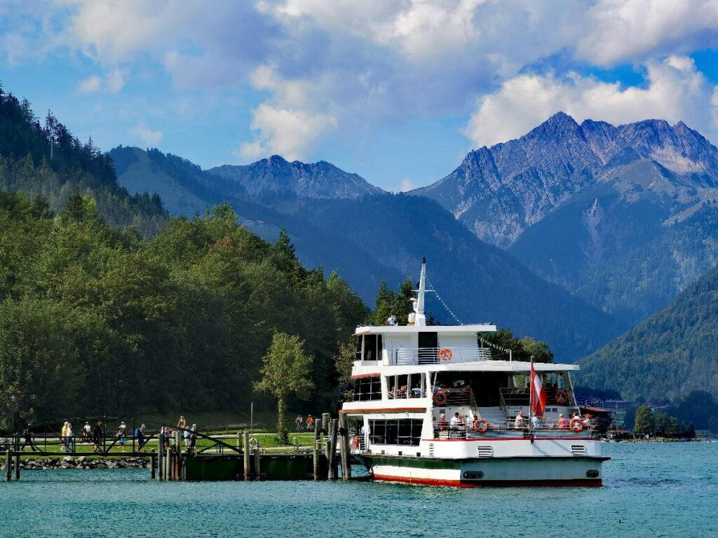 Toller Ausflug im Tirol Urlaub mit der Achensee Schifffahrt