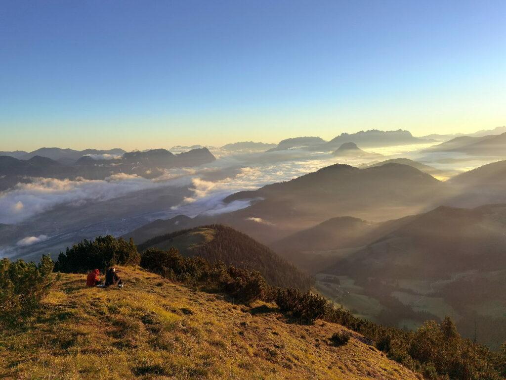 Tirol Urlaub - viel Ausblick auf der Gratlspitze