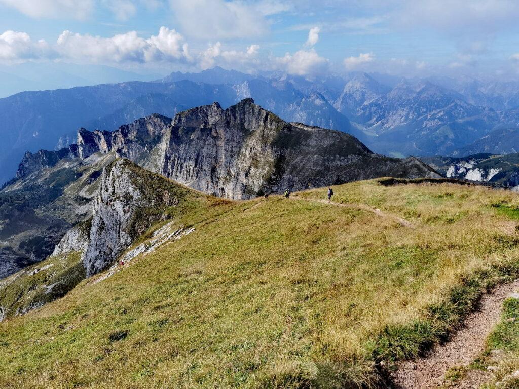 Toll zum Wandern in Tirol Urlaub - das Rofan