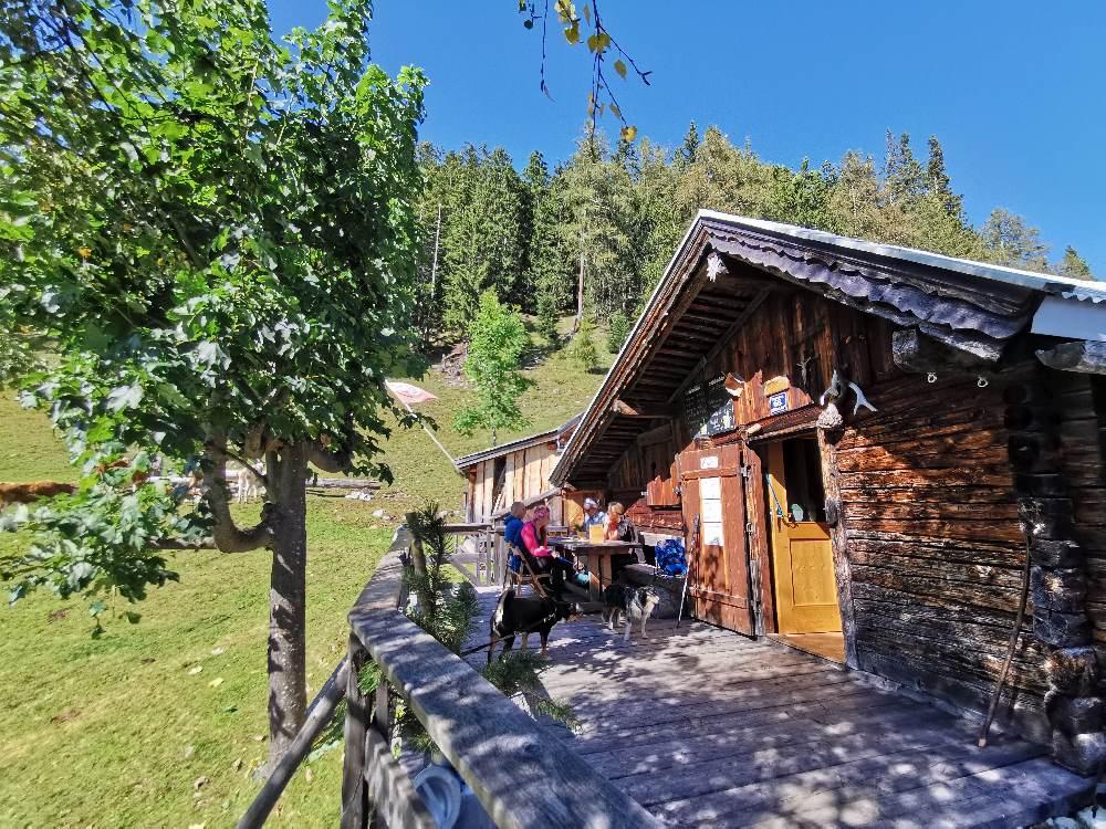 Die geheimste Alm im Karwendel: Waldhorbalm