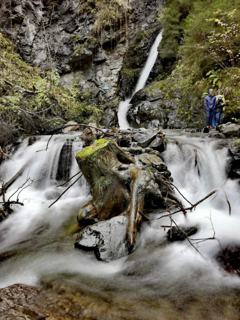Geheime Wasserfälle in Österreich - das Naturdenkmal Herzogfall