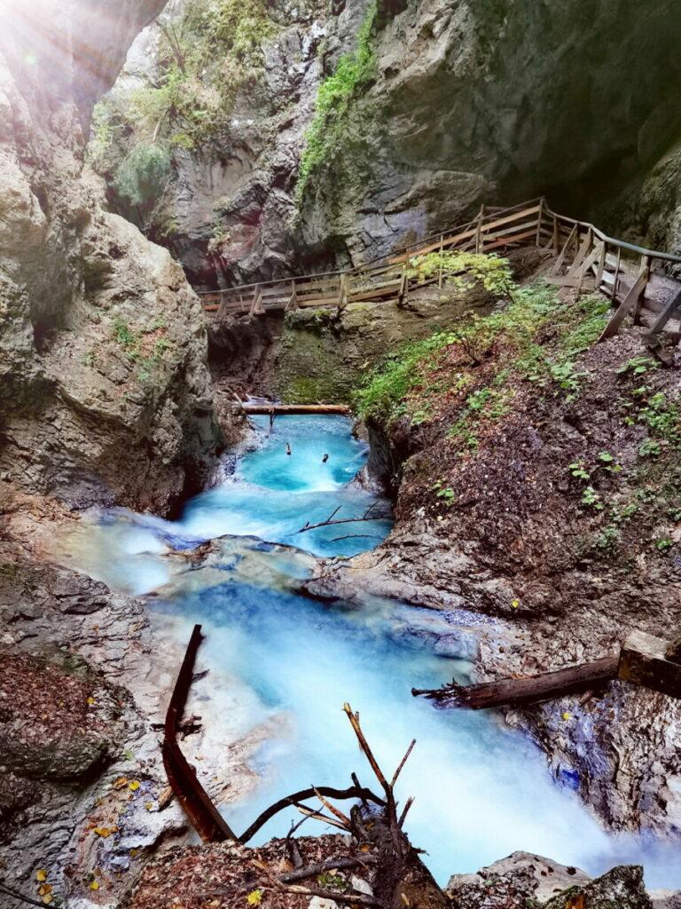Magische Wasserfälle in Österreich - besuch mal die Wolfsklamm