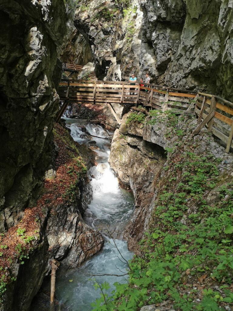 Besuch in deinem Tirol Urlaub die Klammen! Hier die Wolfsklamm.