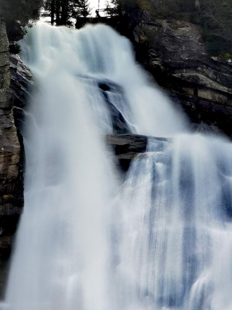 Was sind die grössten Wasserfälle in Österreich?